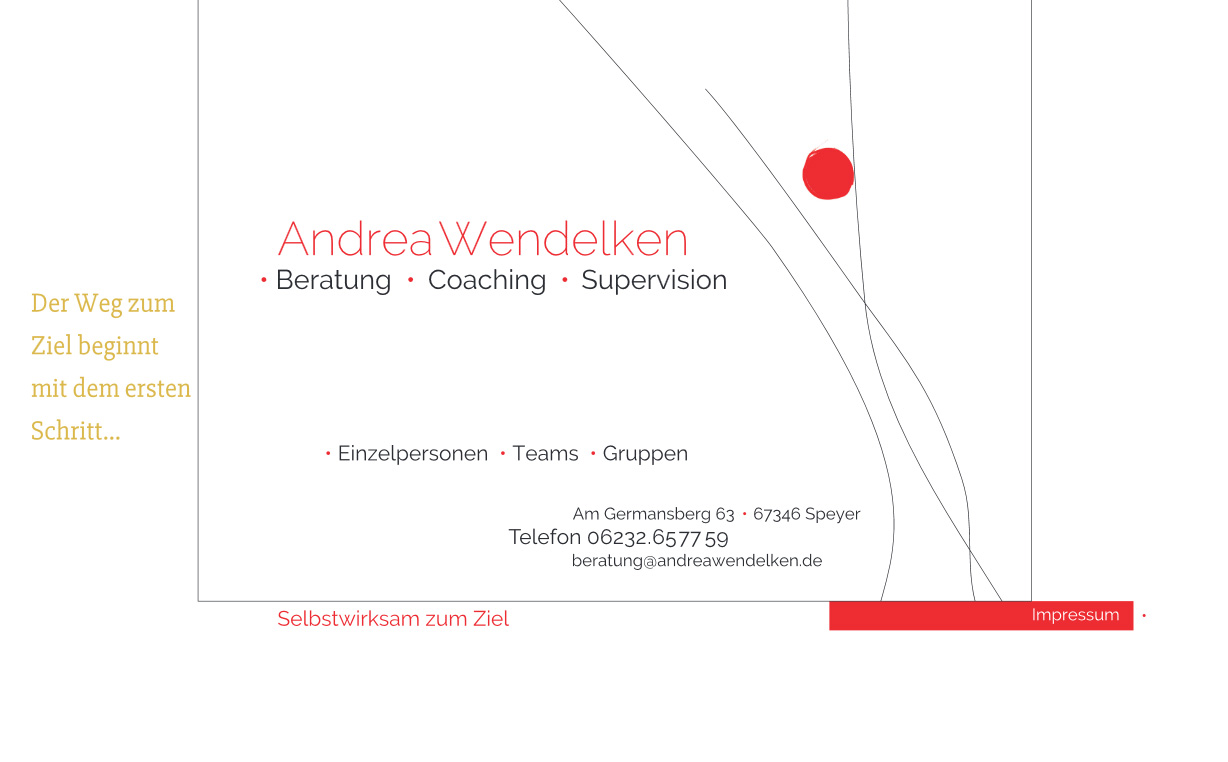 Andrea Wendelken - Beratung, Coaching, Supervision